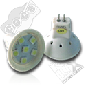 Codice SPP35-6HP3 - Lampada tipo MR11 a 6 LED HP3